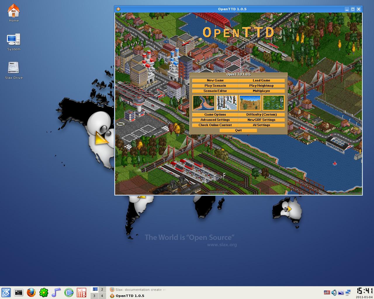 Open TTD online lze nyní hrát online #Gamesy