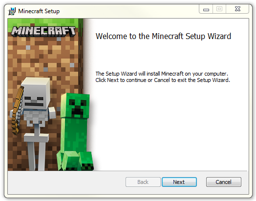 Instalace Minecraft launcheru