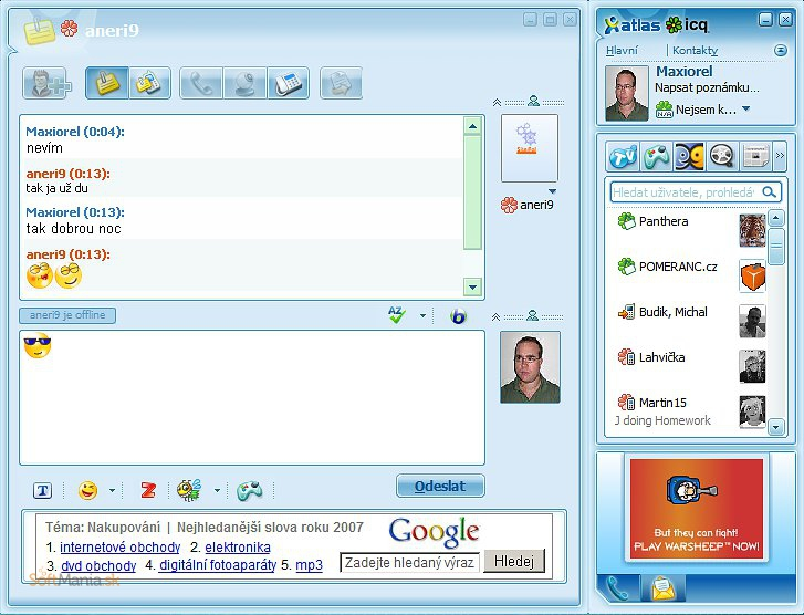 Dating chatroom icq