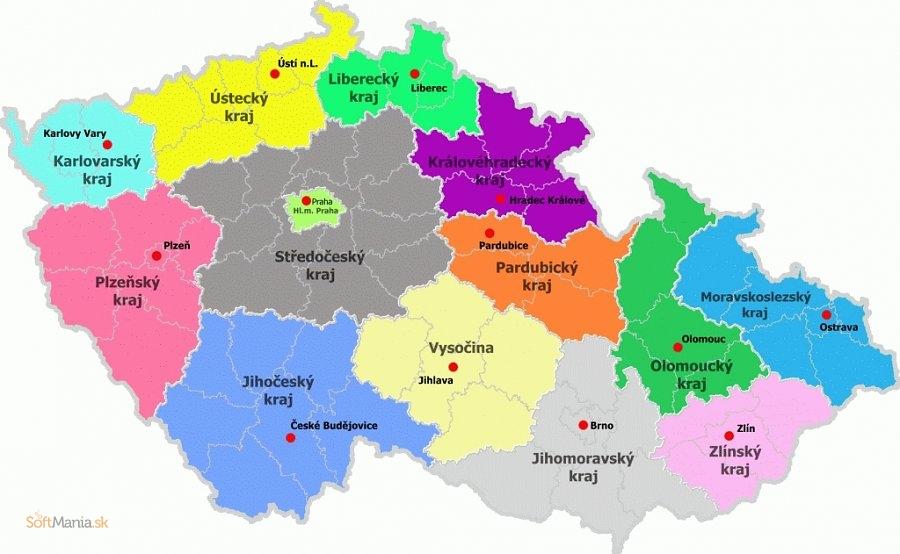 Mapa ČR v XCF ke stažení zdarma - download - Stahnu.cz