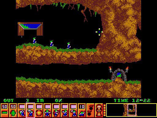 lemmings flash game