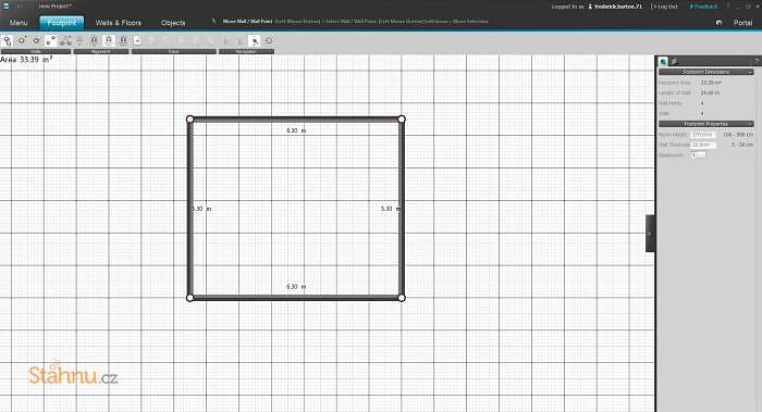 roomeon 3d planner ke sta en zdarma download. Black Bedroom Furniture Sets. Home Design Ideas