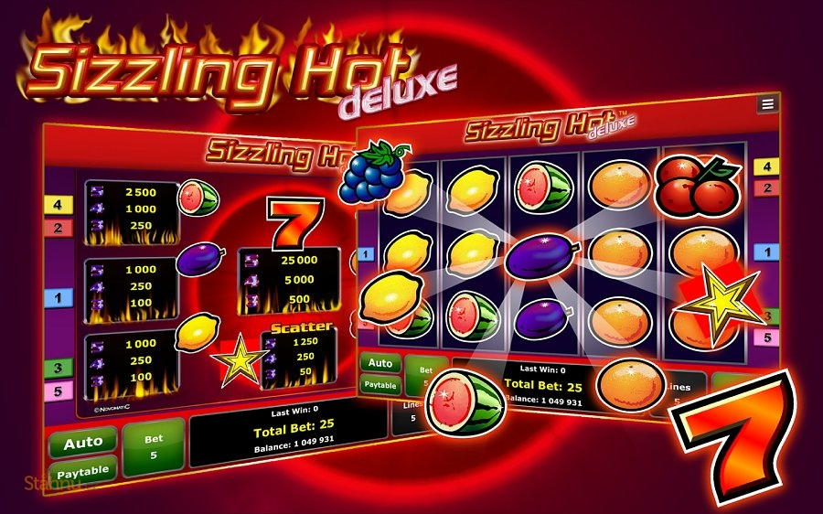 sizzling hot deluxe gametwist