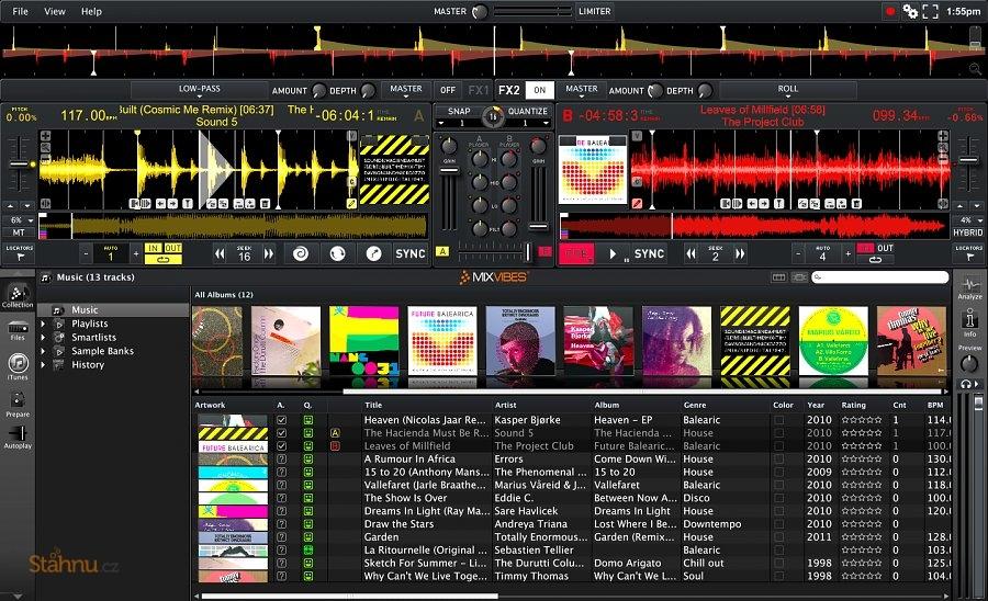 dj mixer ke stažení zdarma
