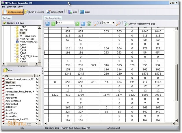 pdf to excel converter download filehippo