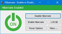 Hibernate – Enable or Disable